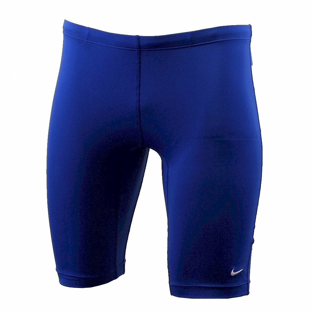 9f371a8726b Nike Men's Poly Core Solids Jammer Swimsuit Game Royal Performance ...