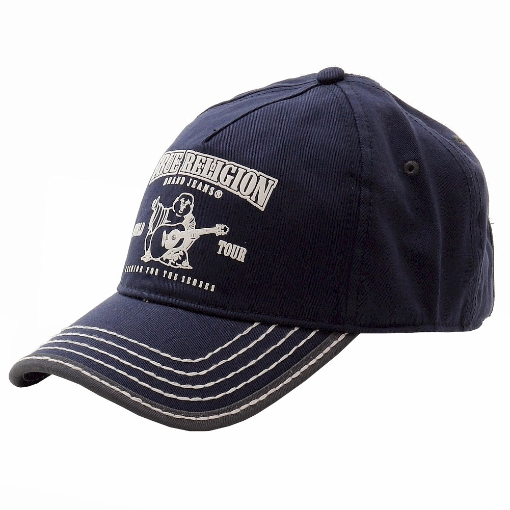 47f34302 Details about True Religion Navy Buddha Logo Adjustable Baseball Cap Hat  (One Size Fits Most)