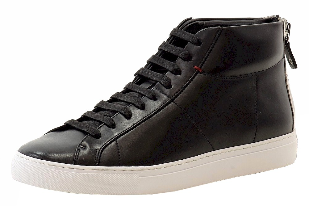 Black High-Top Sneakers Shoes Sz: 10
