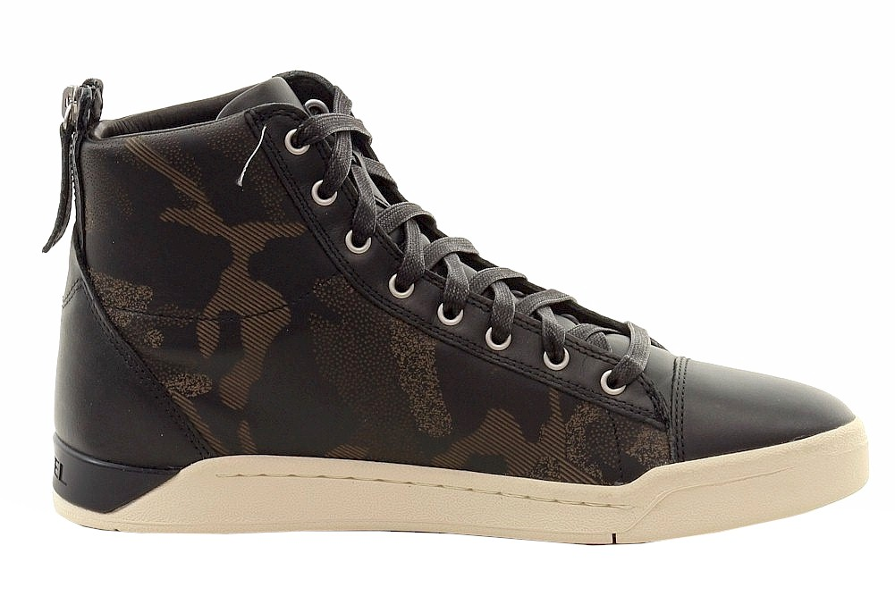 Diesel Men's Diamond Fashion High-Top Sneakers Shoes | eBay