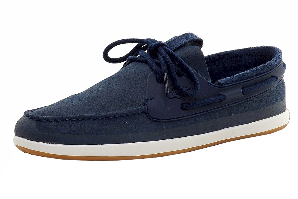 buy popular 4aa75 63030 Details about Lacoste Men s L.Andsailing 116 2 Cam Boat Shoes