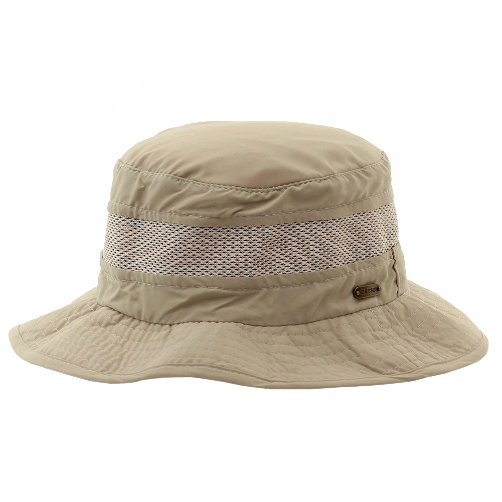 73f0546d Stetson Men's Khaki Insect Shield Flap Boonie Hat | eBay