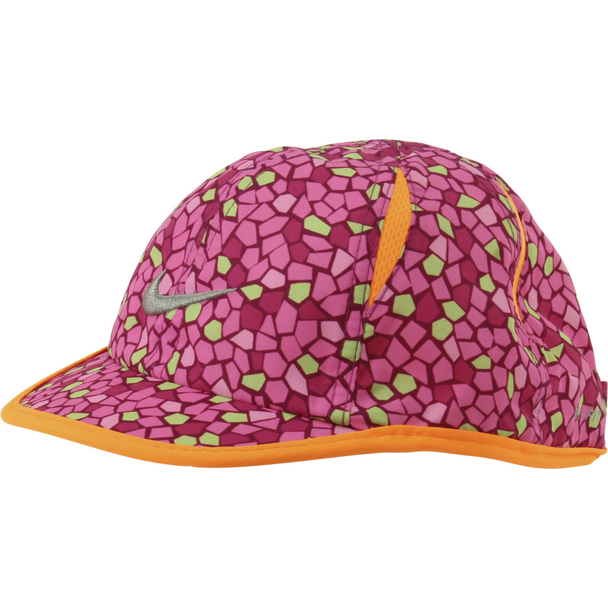 6cd8c934718 Nike Infant Feather Light Swoosh Pinksicle Baseball Cap Hat Sz  12 ...