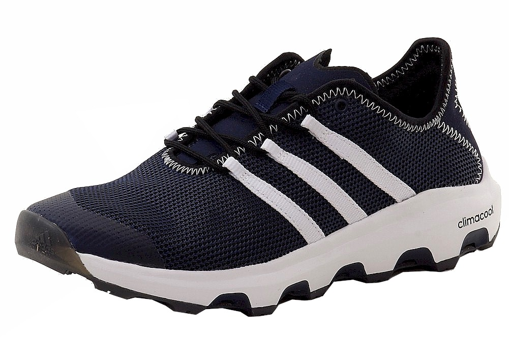 best website cdff8 9ea7f Details about Adidas Climacool Voyager Athletic Navy White Core Black  Hiking Sneakers Shoes