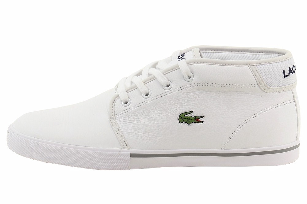 ec975c8bfefd Lacoste Ampthill Lcr3 White Men s Leather Sneaker 7-31spm009821g 13 ...