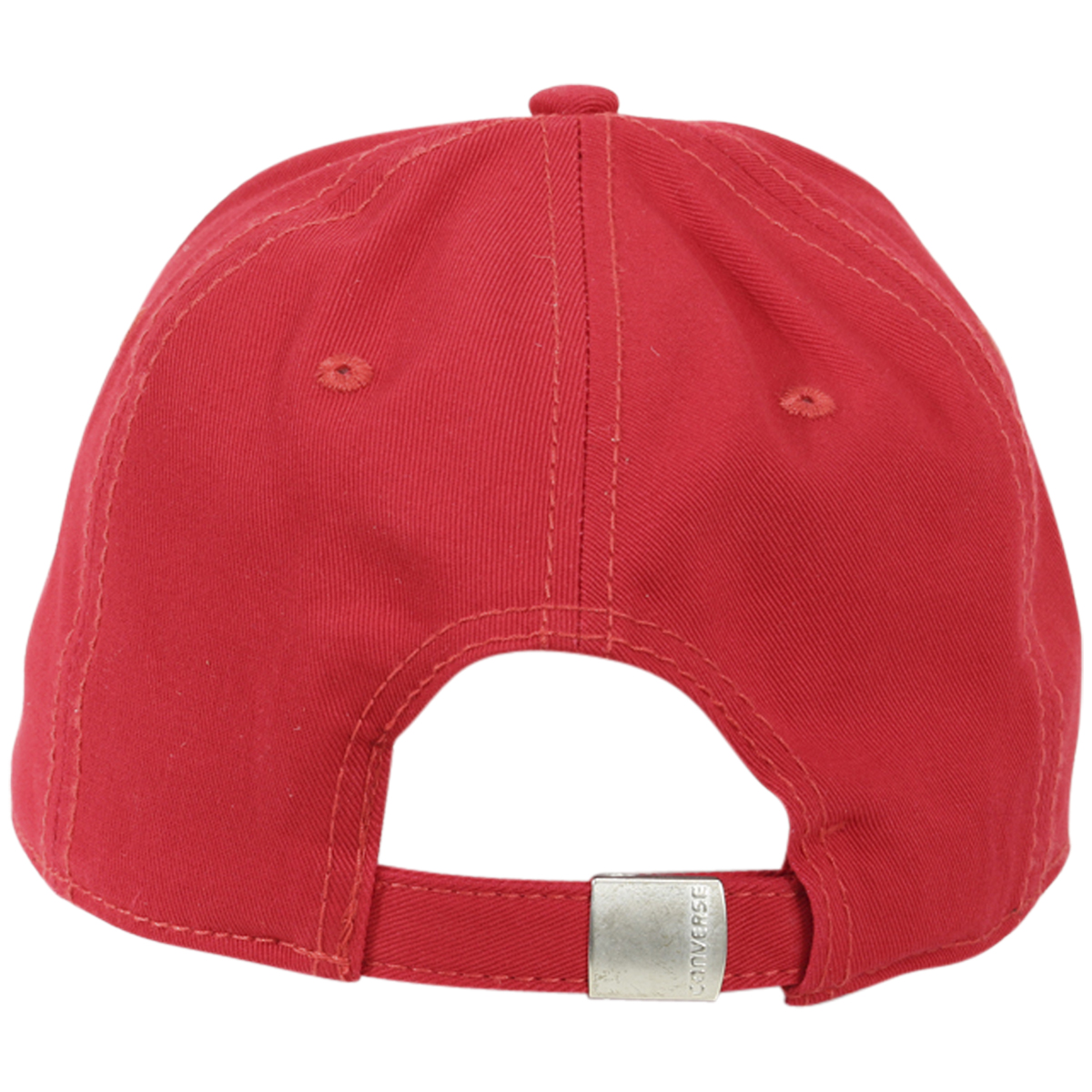 309511f9f57 Converse Adjustable Cotton Cap Baseball Hat (One Size Fits Most)