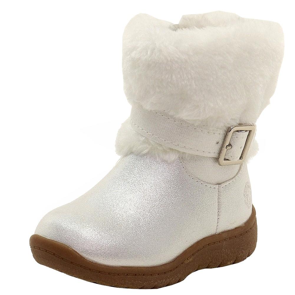 OshKosh B'gosh Toddler Girl's Lia White Fur Lined Winter