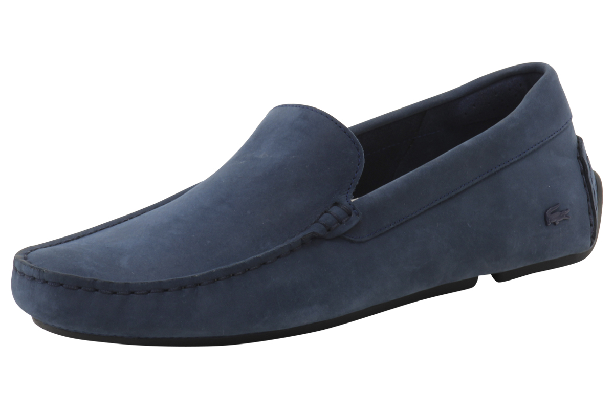 cafdd6ee2e46e Lacoste Men's Piloter 316 1 Navy Loafers Shoes | eBay