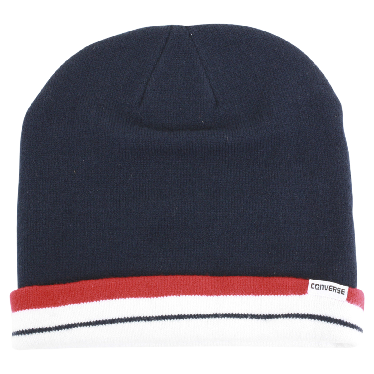 1a19a13e0 Details about Converse Men's All Star Navy Beanie Cap Winter Hat (One Size  Fits Most)