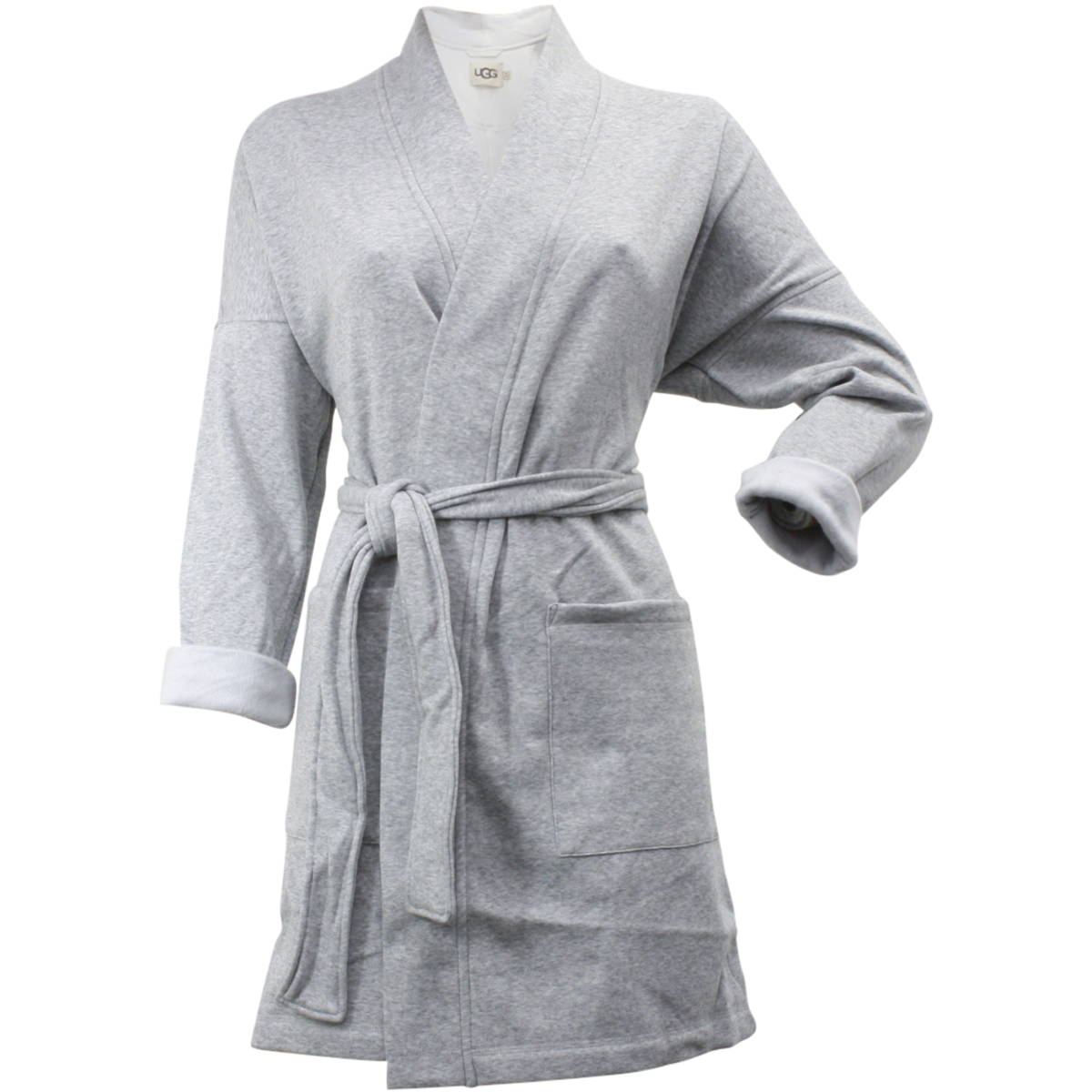 b7cc20bda8 Ugg Women s Braelyn Relaxed Fit Seal Heather Fleece Lined Robe