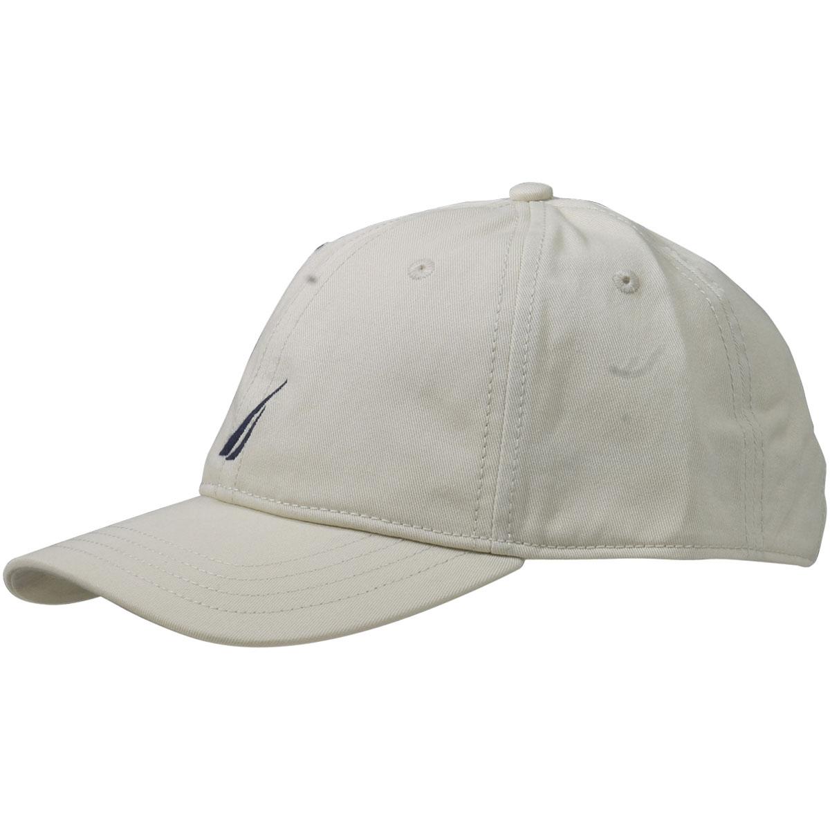 Nautica Anchor J-Class Oat Cotton Cap Baseball Hat (One Size Fits ... 9acd5504687e
