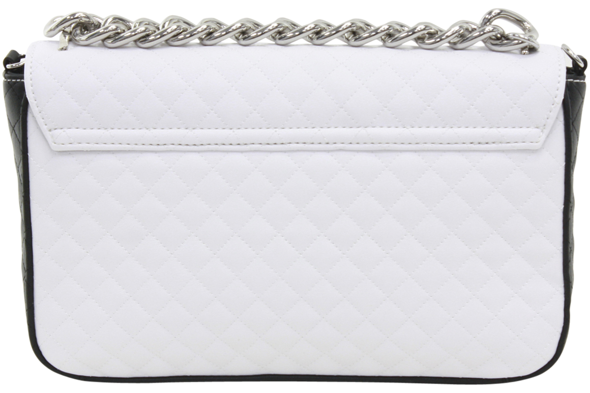 454d9e64629 Guess Women s G Lux Quilted Man-Made Leather Flap-Over Crossbody ...