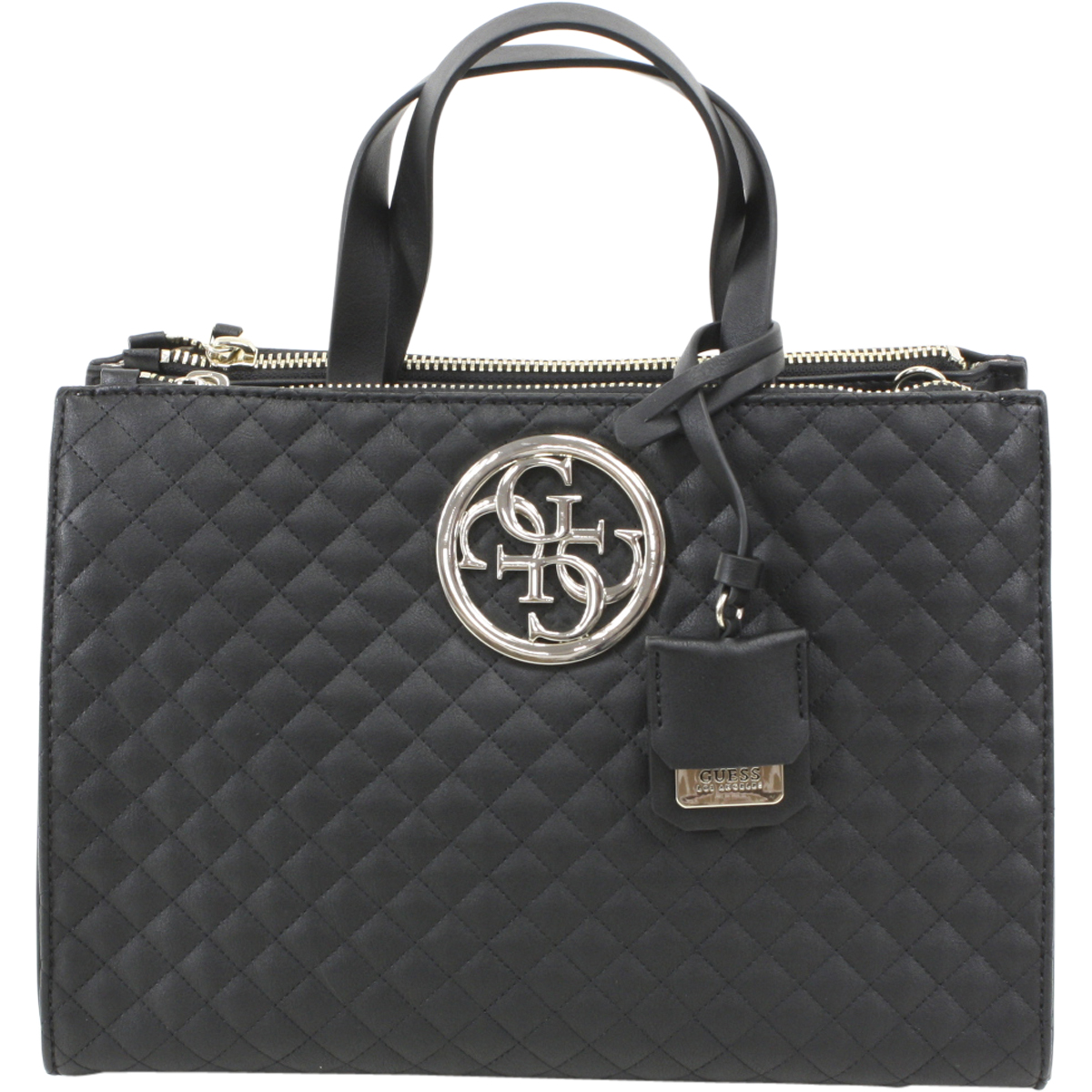 Guess Women's G Lux Quilted Black Status