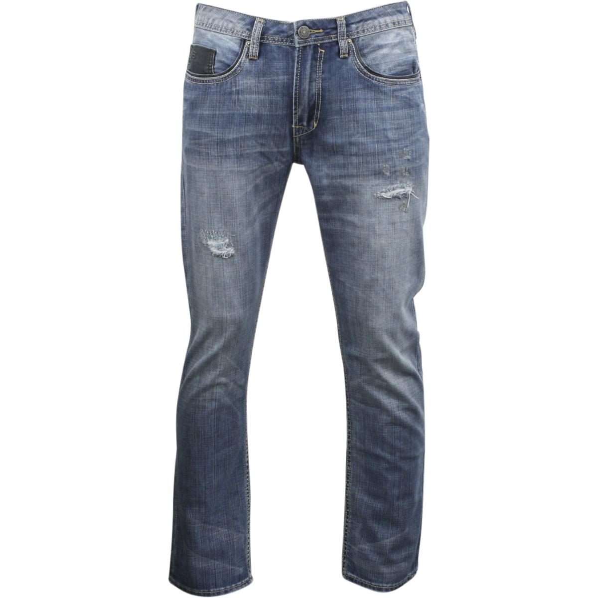 f2909d128094 Details about Buffalo By David Bitton Men's Evan Slim Fit Rip & Repair  Indigo Jeans