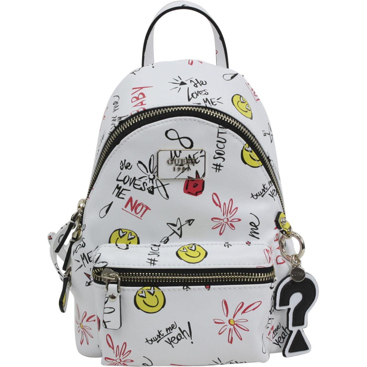 Guess Women's Cool School Small Leeza Book Bag Backpack   eBay