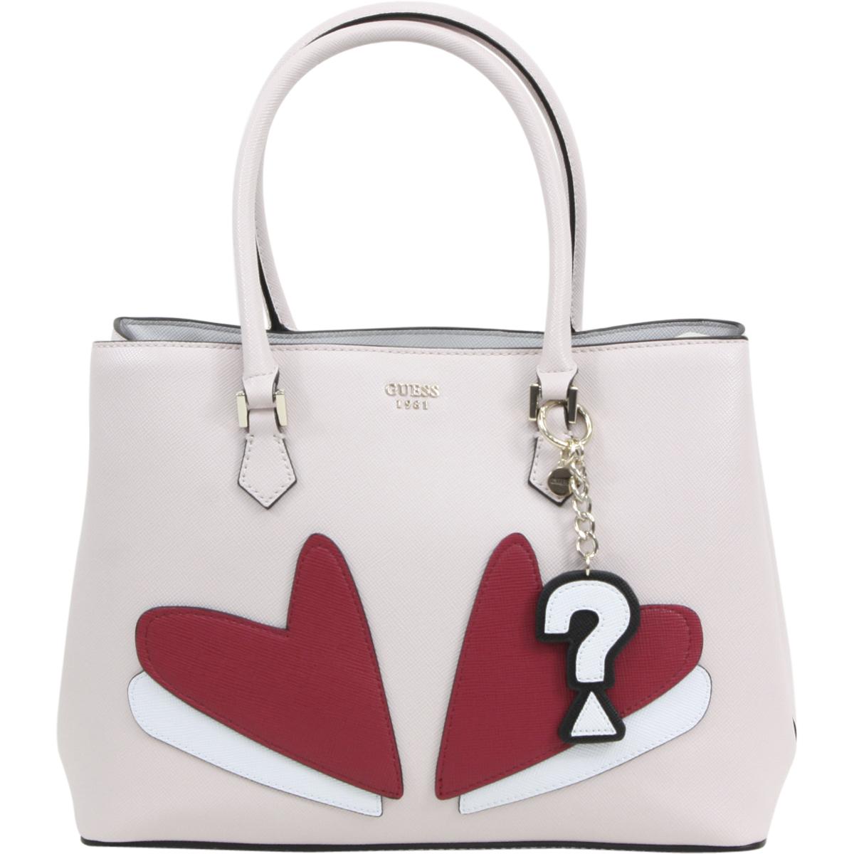 Details about Guess Women's Pin Up Pop Pebbled Shopper Tote Handbag