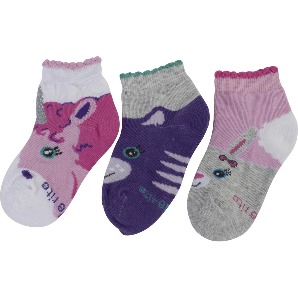 Stride Rite Girl/'s 2-Pairs White Glimmer Comfort Seam Fold Over Socks