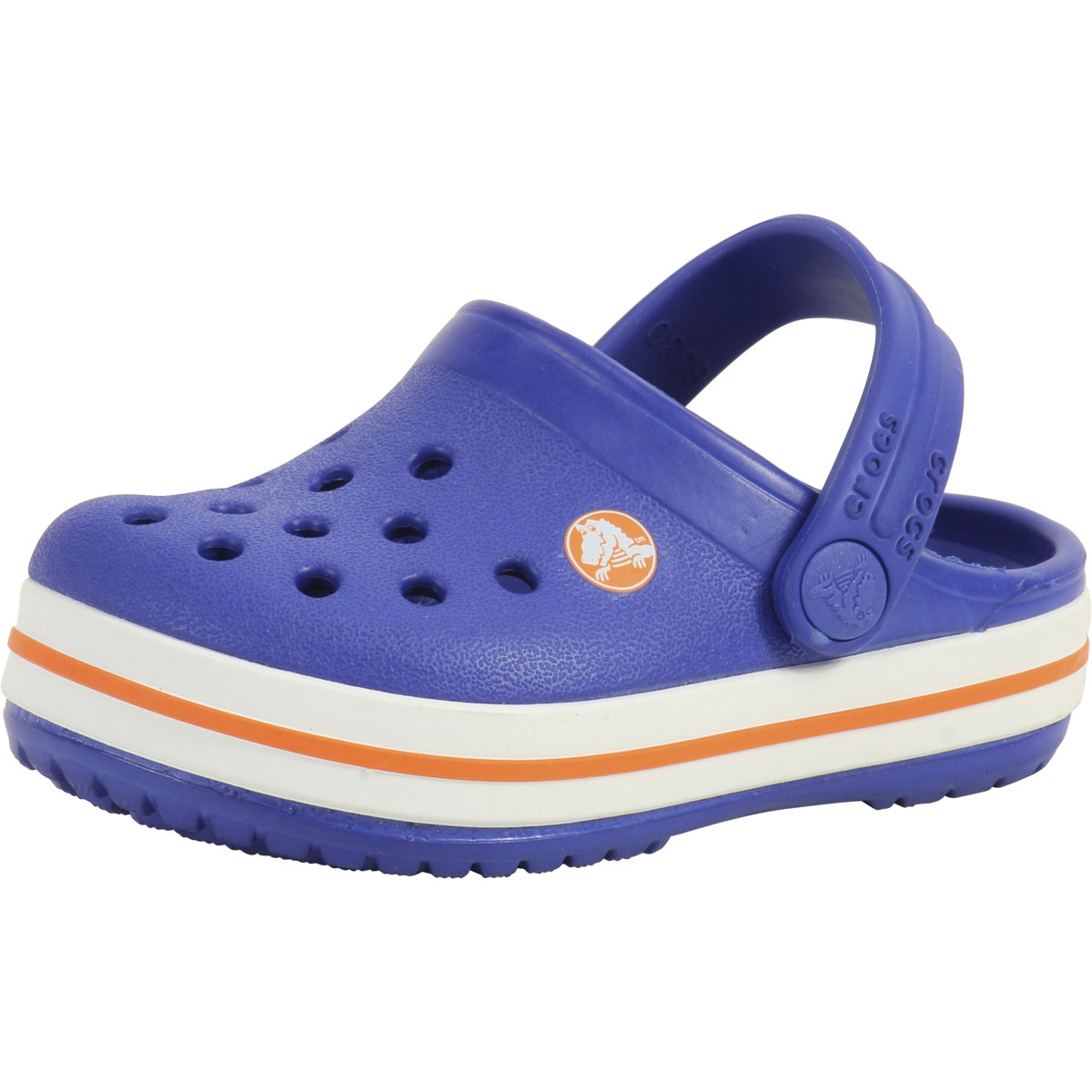 2ecd8f5648 Details about Crocs Toddler Boy's Crocband Cerulean Blue Clogs Sandals Shoes
