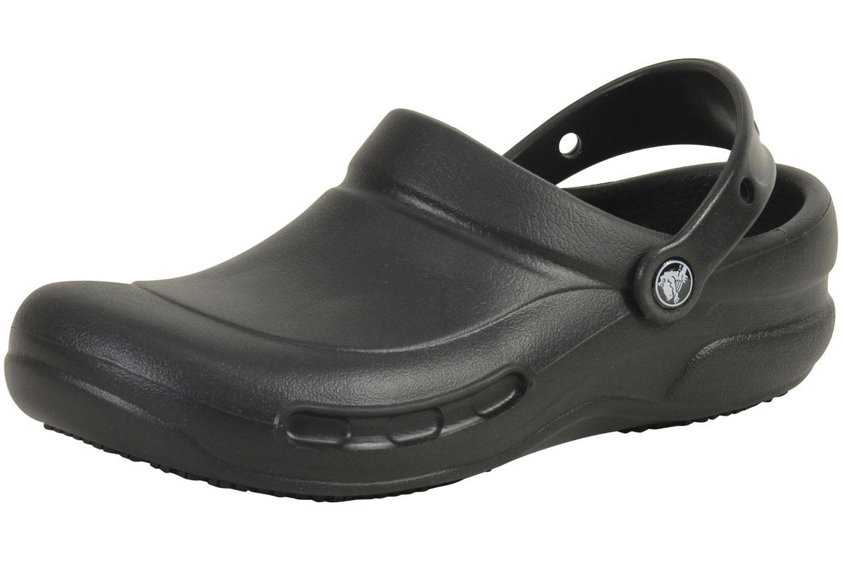c7f06512940278 Crocs At Work Bistro Black Slip Resistant Clogs Sandals Shoes