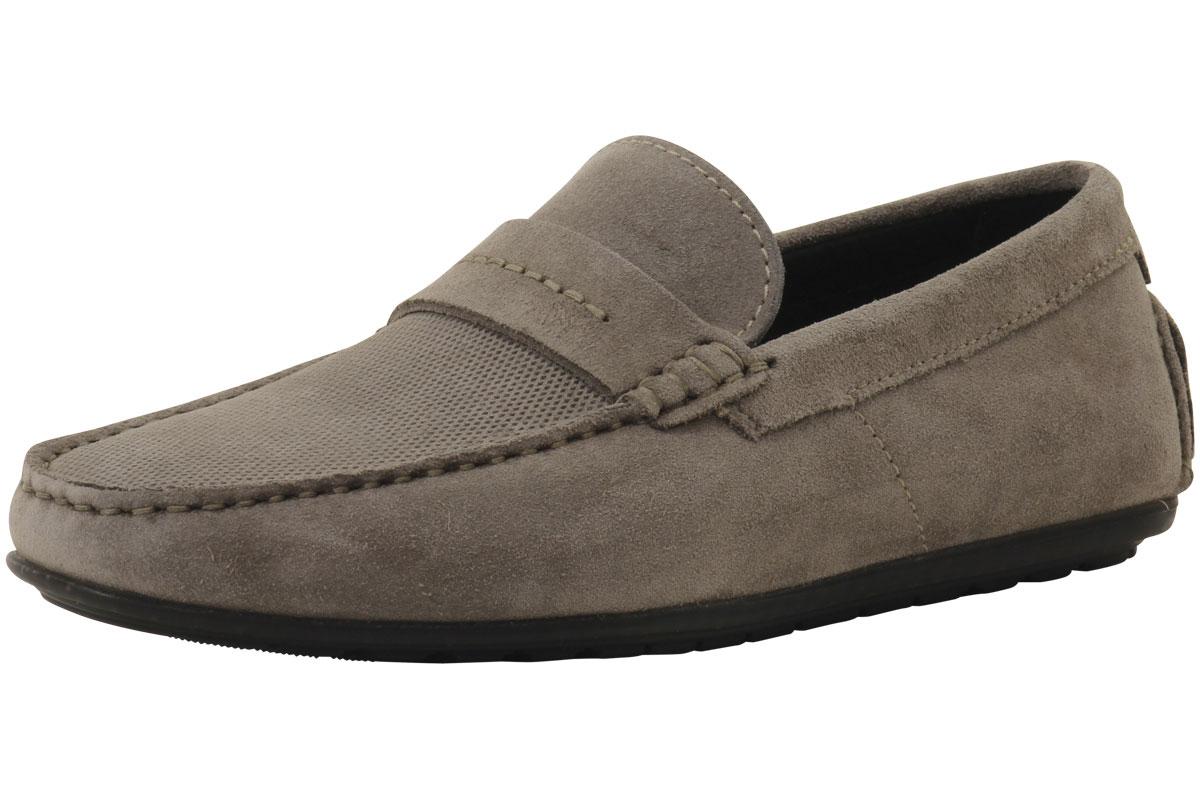 Hugo Dandy Mocc Mens Shoes Brown