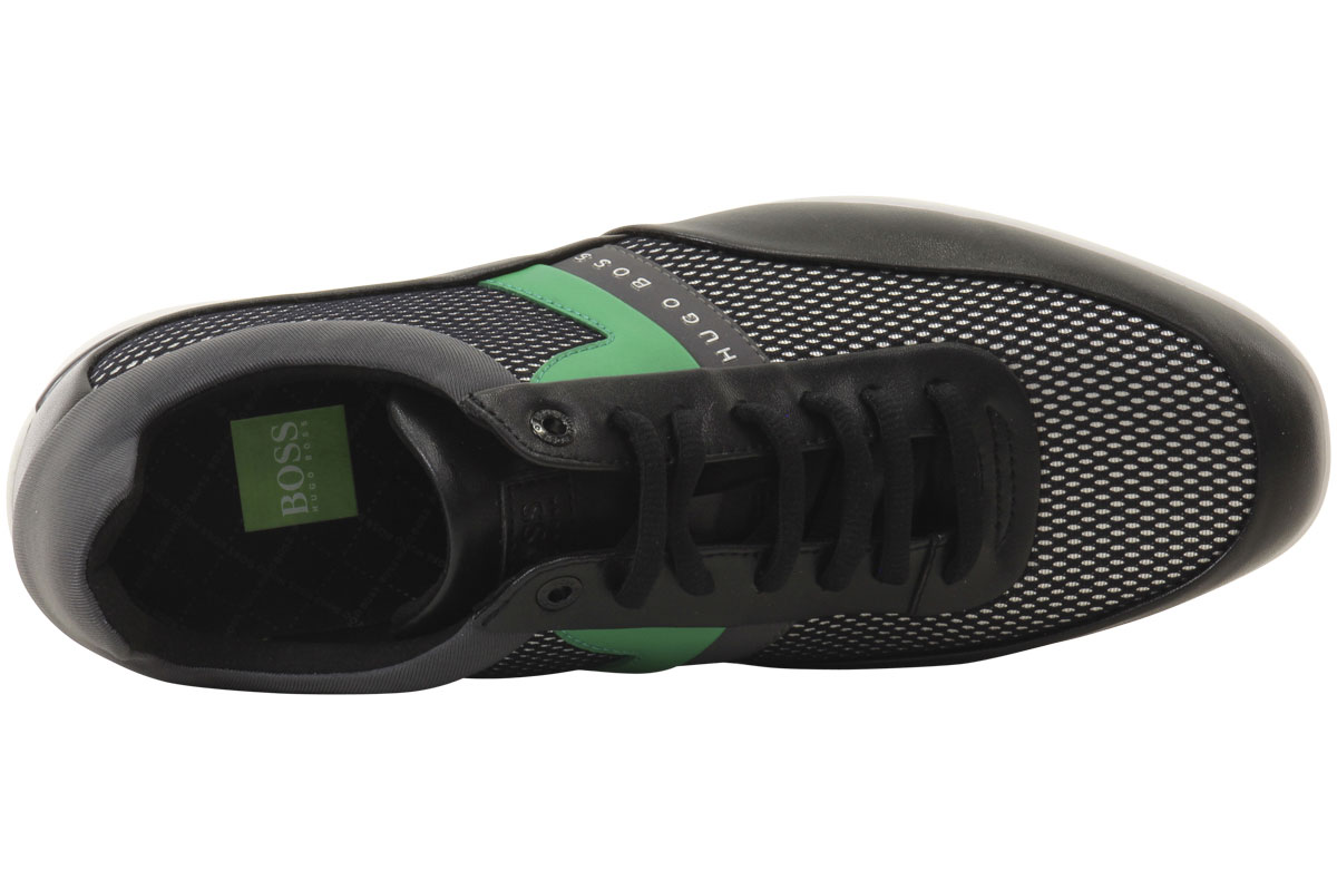 Hugo-Boss-Men-039-s-Space-Mesh-Sneakers-Shoes thumbnail 20