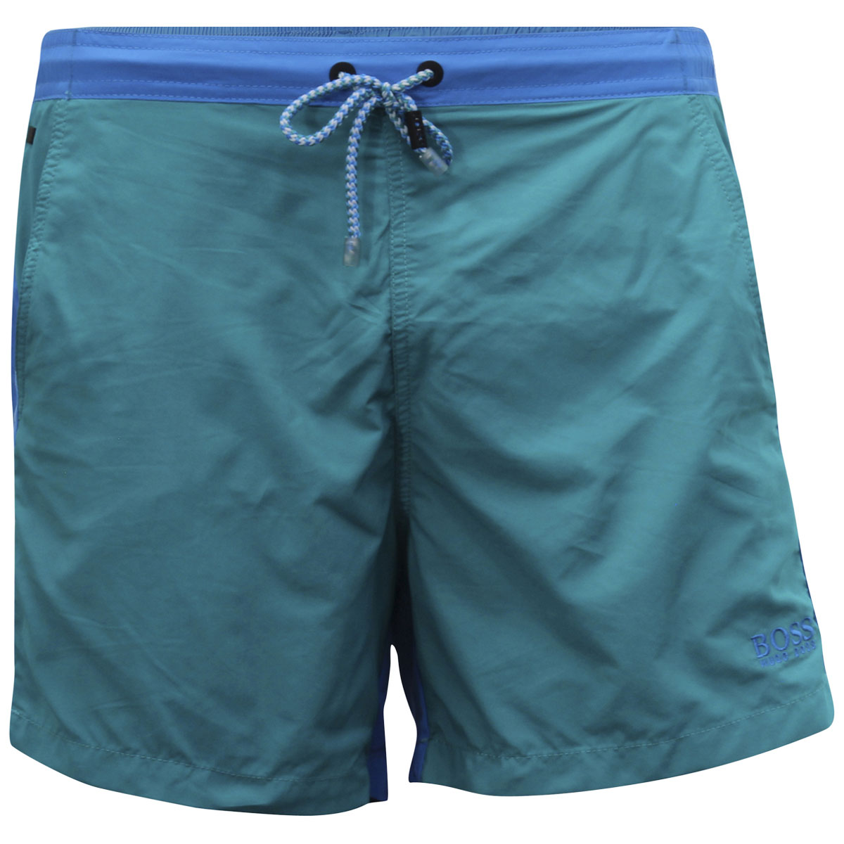 3f54c136 Hugo Boss Men's Snapper Swim Trunk - Choose Sz/color Turquoise/aqua Large.  About this product. Picture 1 of 6; Picture 2 of 6; Picture 3 of 6; Picture  4 of ...