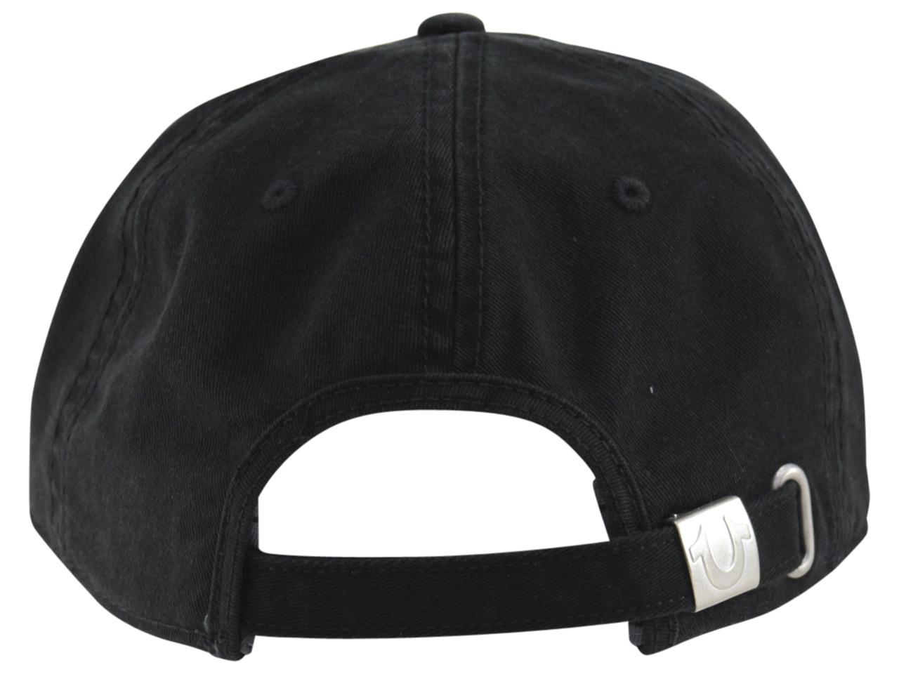 89746abf4ea True Religion Men s Core Logo Baseball Cap Hat (One Size Fits Most ...
