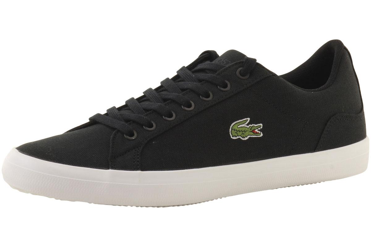 31c23e466 Lacoste Men s Lerond-BL-2 Canvas Sneakers Shoes