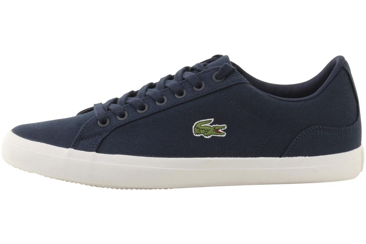 cc0af2b66 Lacoste Men s Lerond-BL-2 Canvas Sneakers Shoes