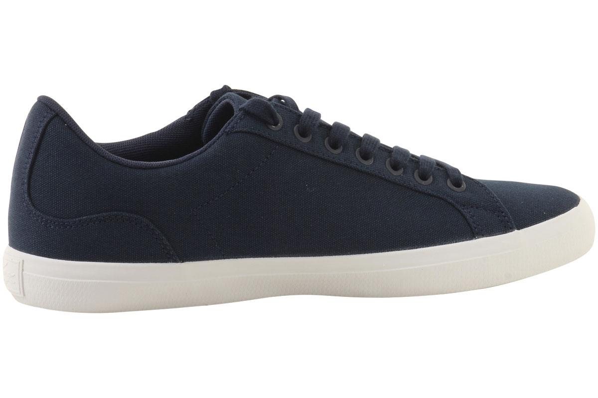 d3225f8d4 Lacoste Men s Lerond-BL-2 Canvas Sneakers Shoes