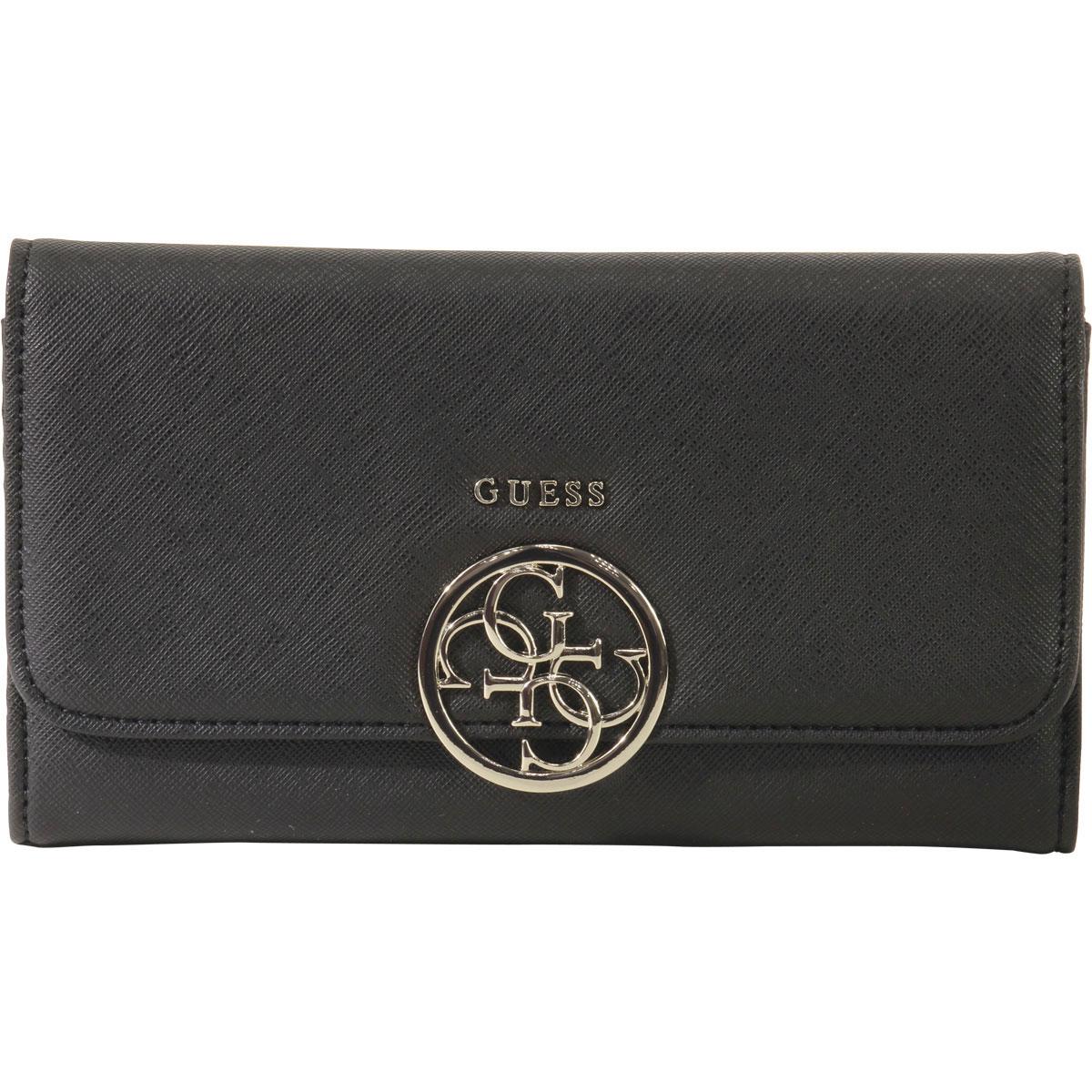 Details about Guess Women's Kamryn Saffiano Multi Clutch Wallet
