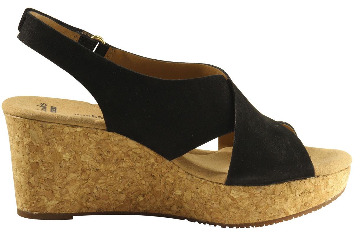 0fd8b77473c Clarks Women s Annadel Eirwyn Cork Wedge Sandals Shoes