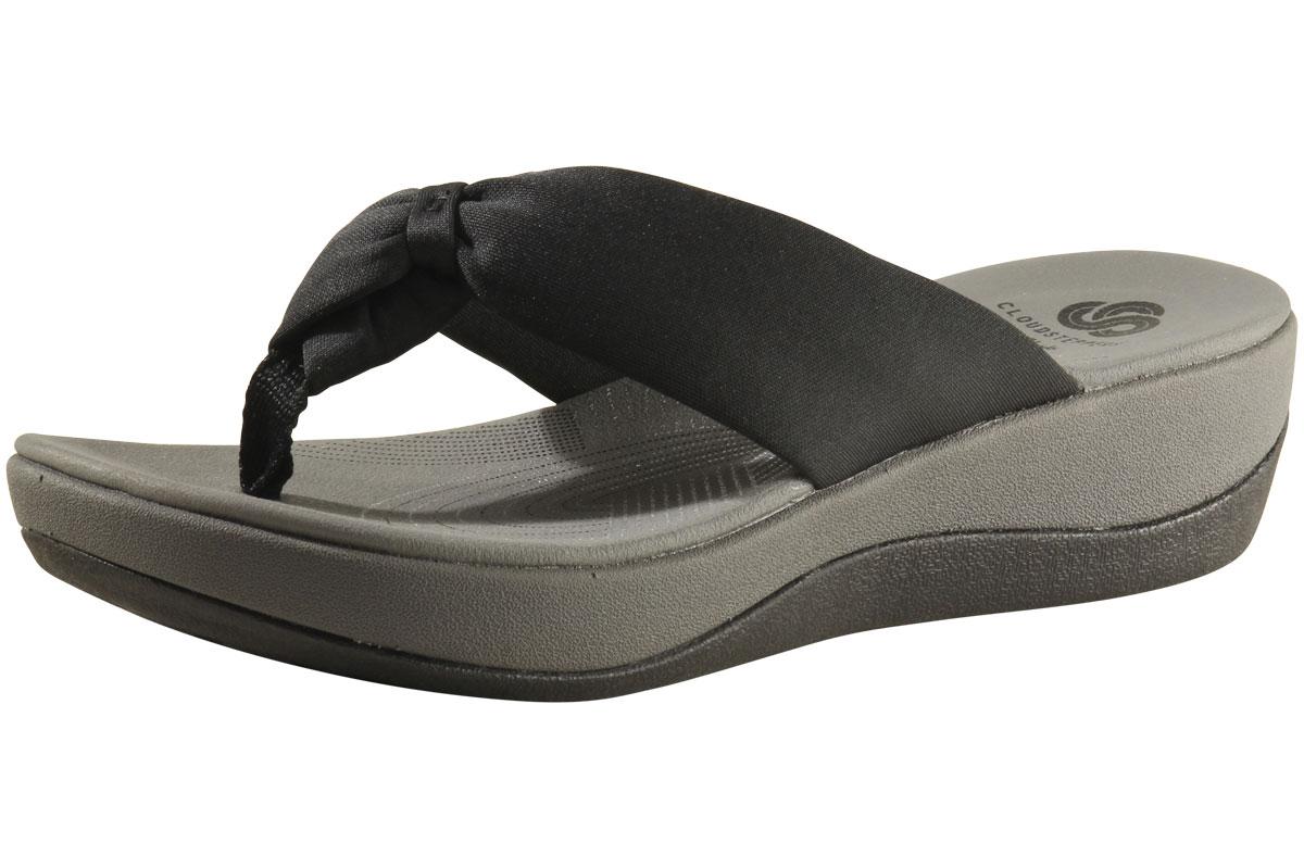 85827df907ca Clarks Cloudsteppers Women s Arla Glison Flip Flop Sandals Shoes