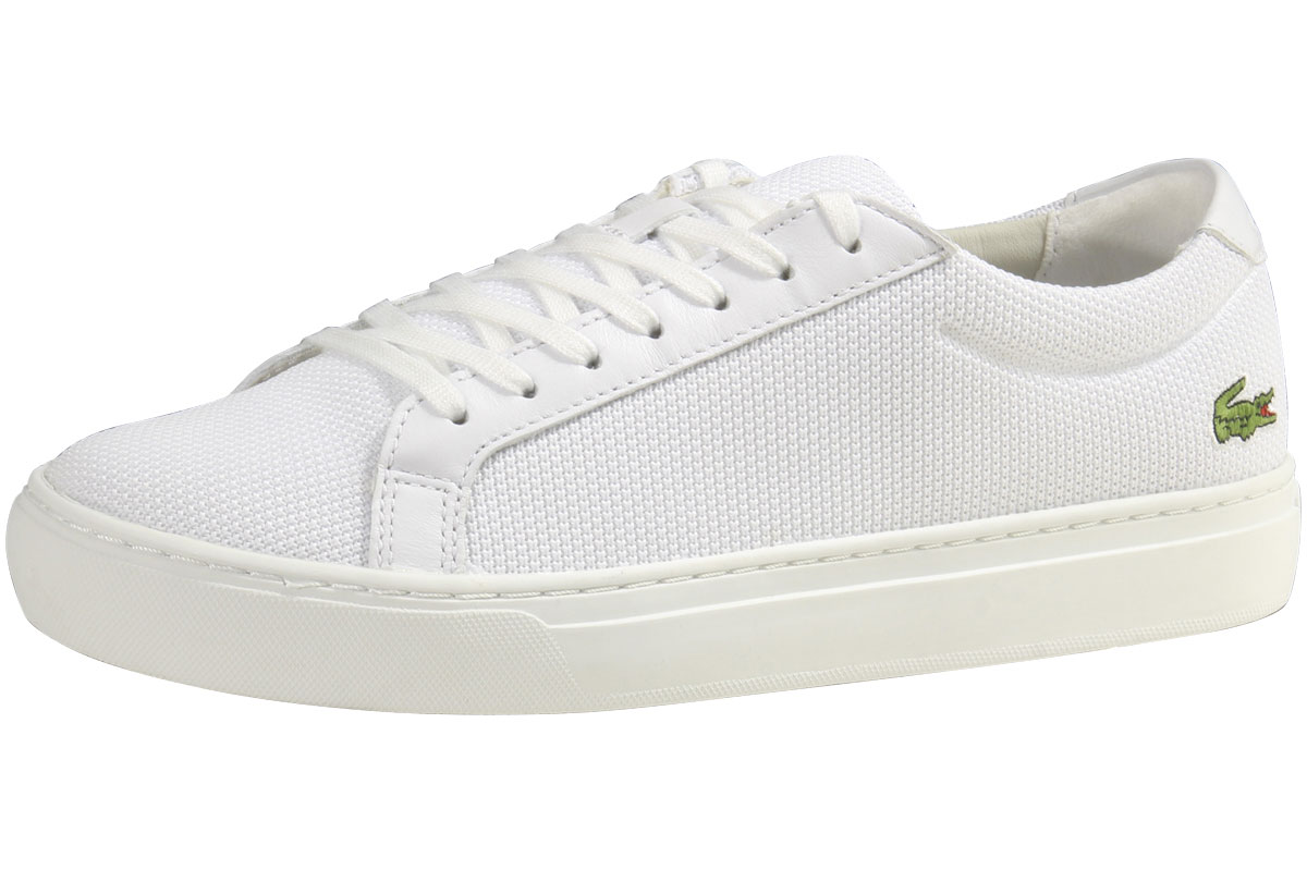 fa36556f0c651 Lacoste Men s L.12.12-BL-2 White Sneakers Shoes