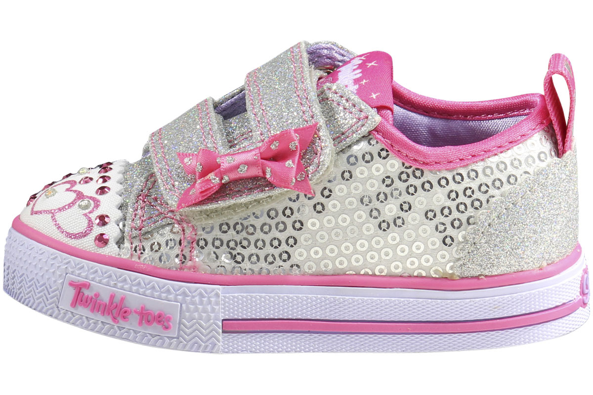 Skechers Toddler Girl S Twinkle Toes Itsy Bitsy Sneakers