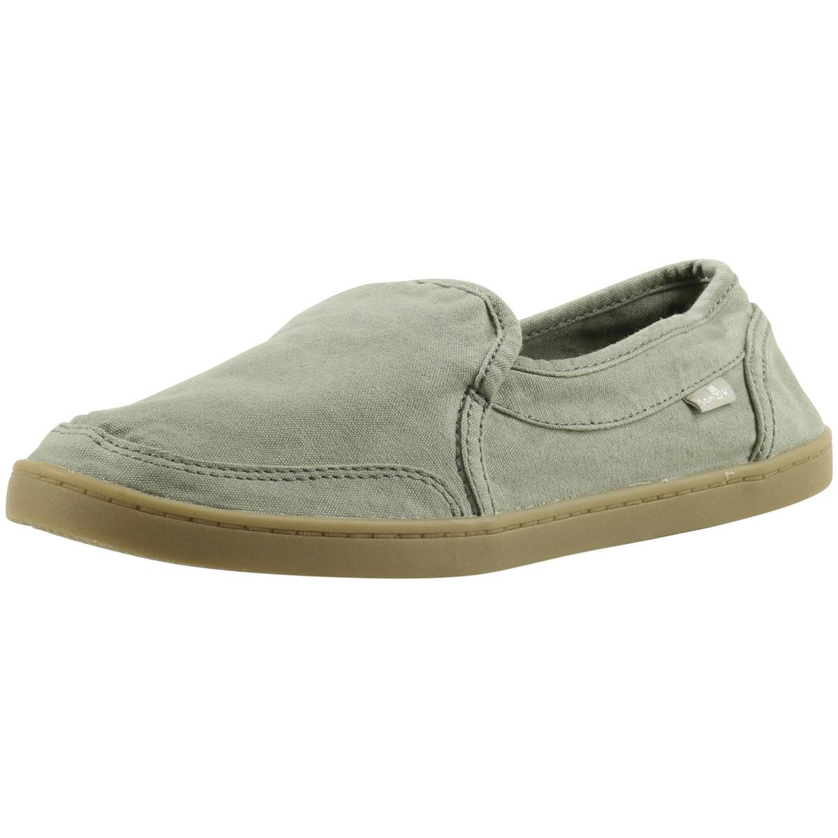 25c8c2b0417e3 Sanuk Women s Pair O Dice Canvas Loafers Shoes