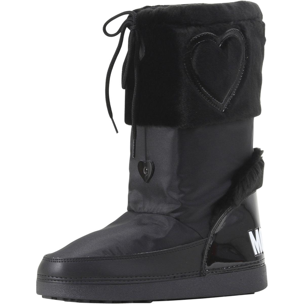 Love Moschino Snowboots 'SKI HEART' schwarz 1cFjm34d