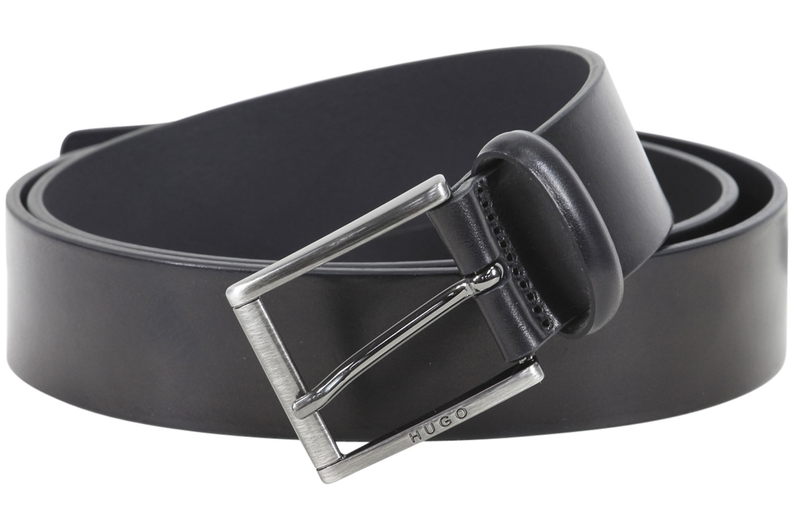 Hugo Boss Men/'s Golloty-S Genuine Suede Leather Belt