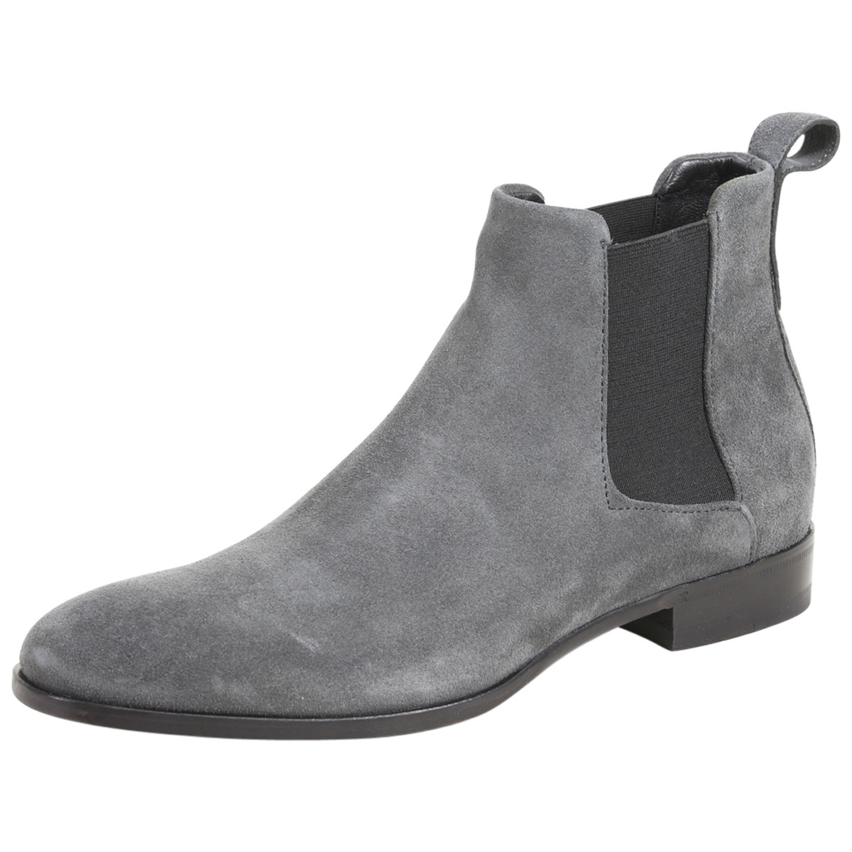 f6b38fe20ce Details about Hugo Boss Men's Cult Suede Leather Chelsea Boots Shoes