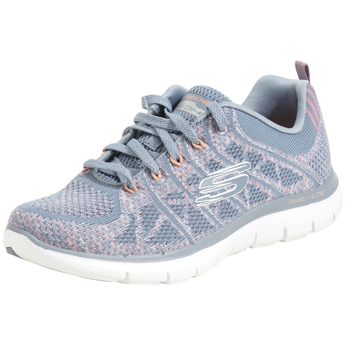 43ab45442aed Skechers Women s Flex Appeal 2.0 New Gem Memory Foam Sneakers Shoes ...