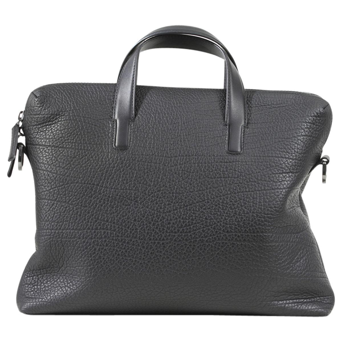 a2b02eb94e09 Hugo Boss Victorian-S Genuine Leather Document Briefcase