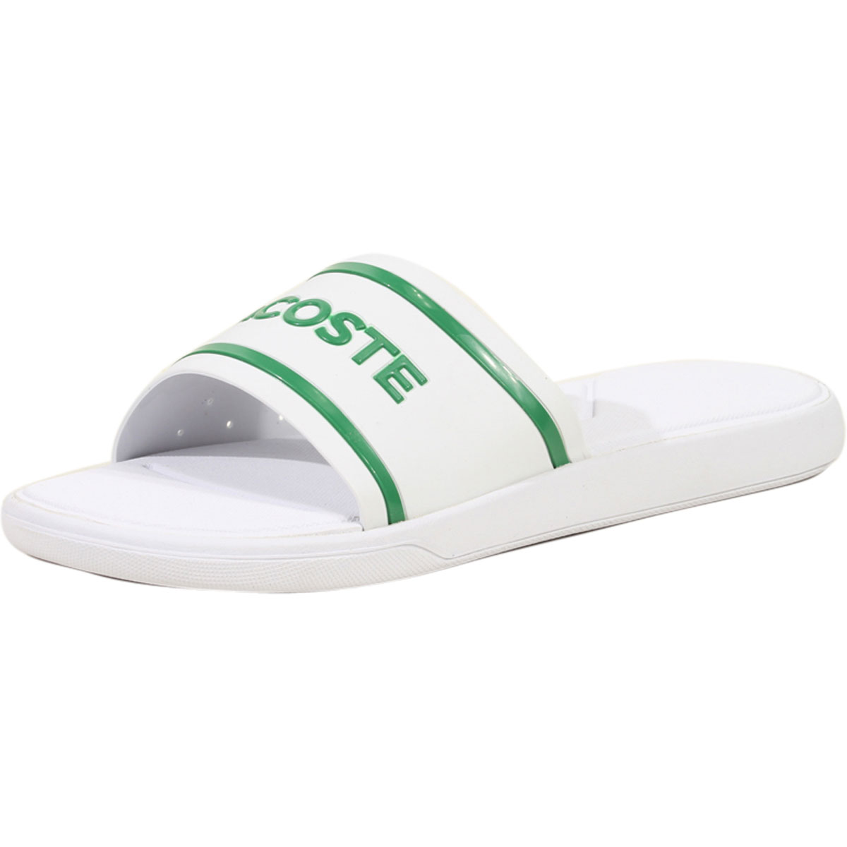 88179712d51aee Lacoste Men s L.30-Slide-118 Slip-On Sandals Shoes