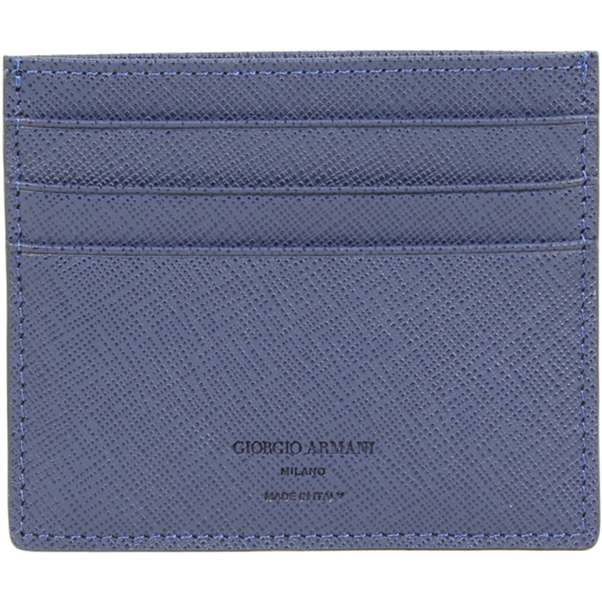 Giorgio Armani Men\'s Textured Genuine Leather Card Holder Wallet | eBay