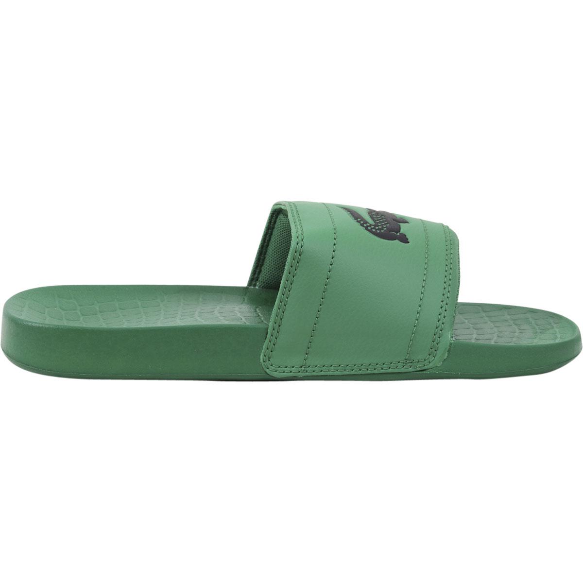 lacoste men s fraisier 118 slides sandals shoes ebay