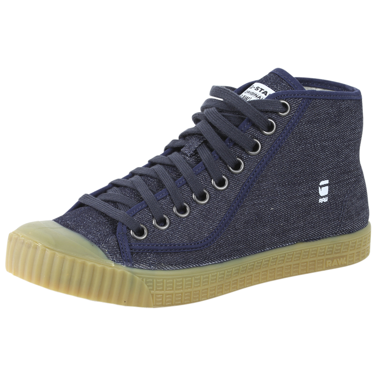 Details about G Star Raw Men's Rovulc Roel Mid High Top Sneakers Shoes