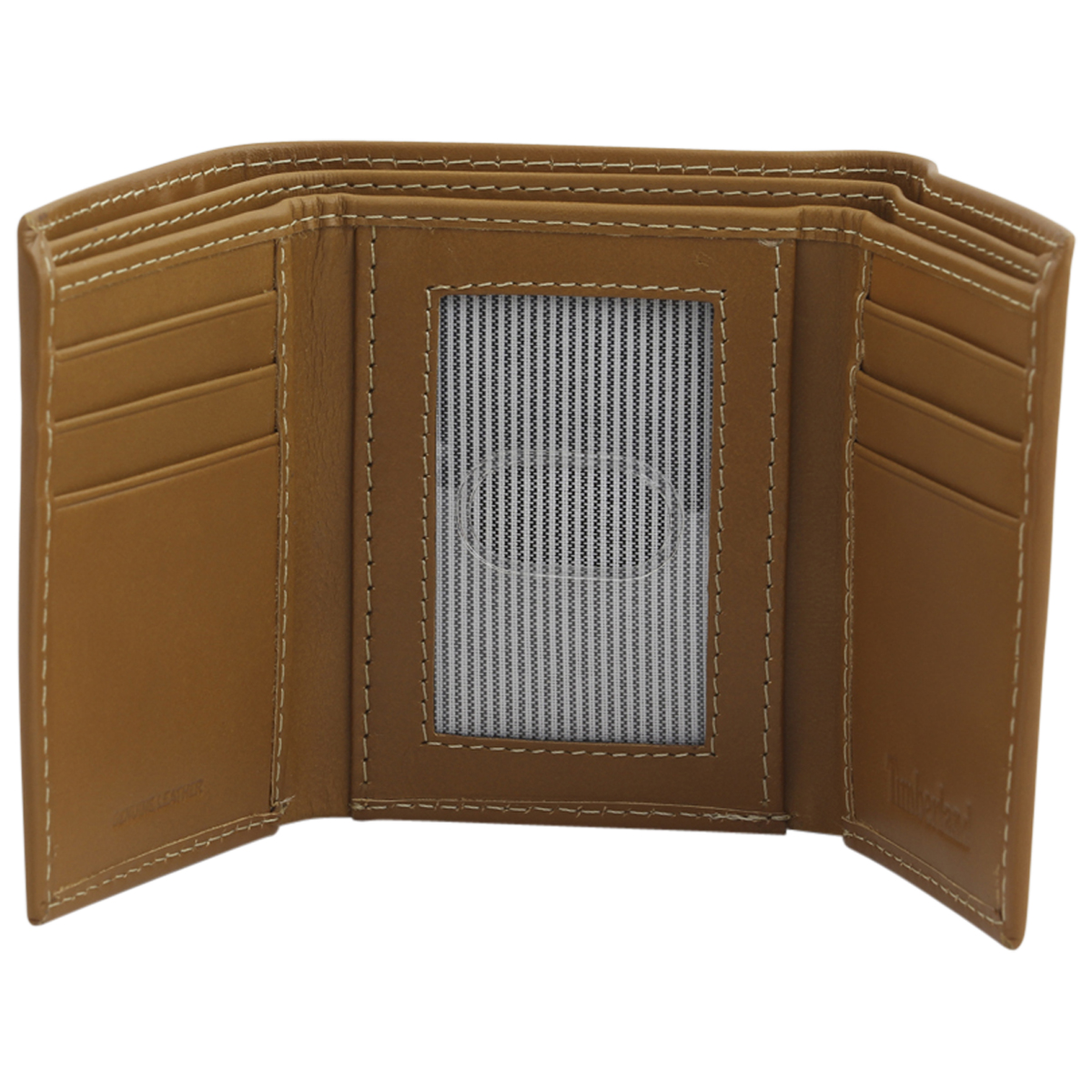 Timberland-Men-039-s-Cloudy-Genuine-Leather-Tri-Fold-Wallet thumbnail 9