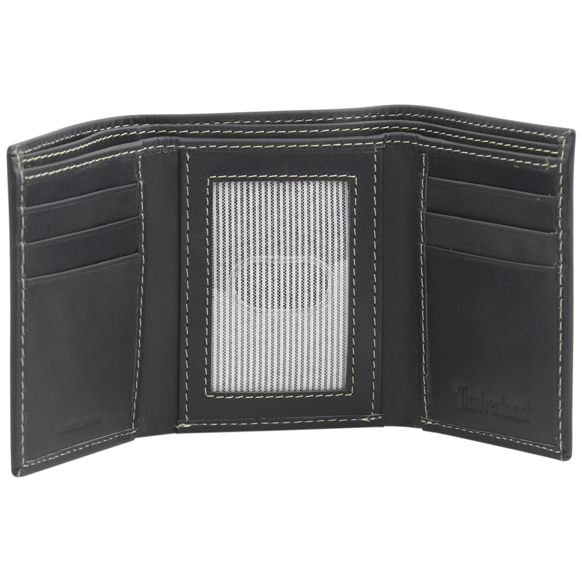 Timberland-Men-039-s-Cloudy-Genuine-Leather-Tri-Fold-Wallet thumbnail 6