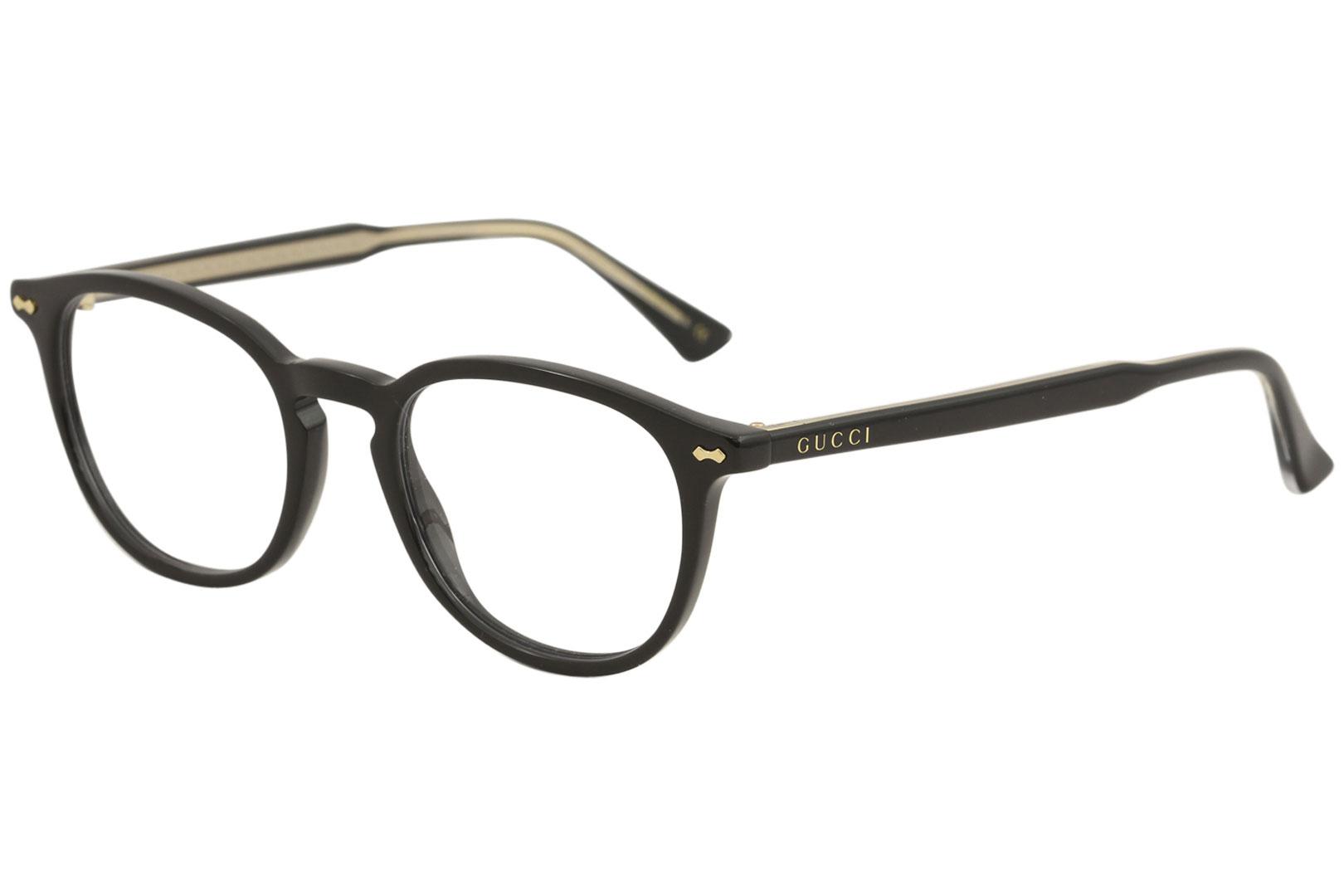 Gucci Men s Eyeglasses GG0187O GG 0187 O 005 Black Full Rim Optical ... 346d7f1054