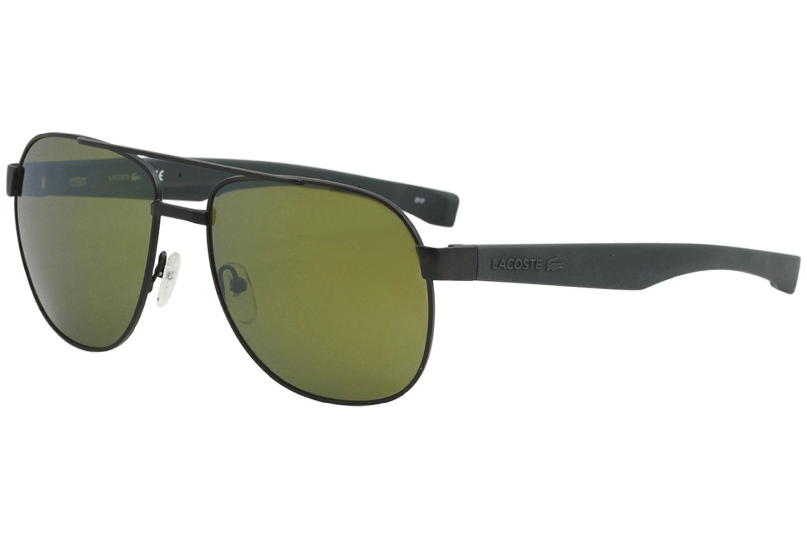 d4b720a9b20 Lacoste Men s L186S L 186 S 315 Matte Green Fashion Pilot Sunglasses ...
