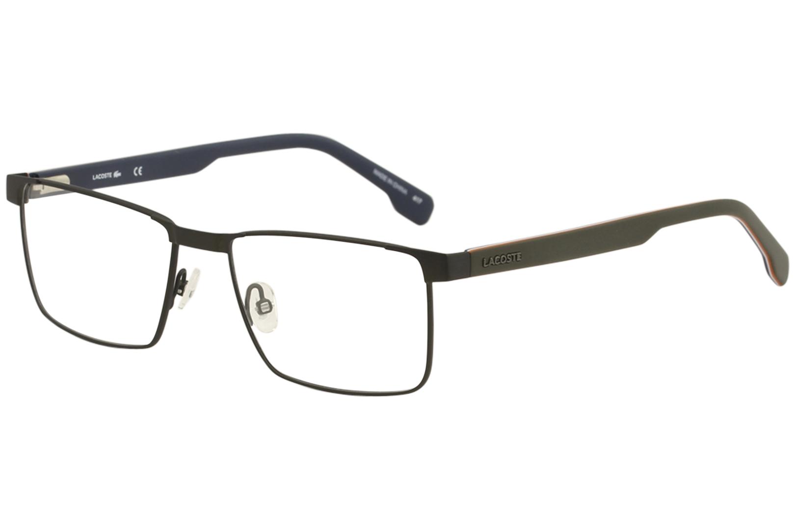 393f4172158c Lacoste Men s Eyeglasses L2243 L 2243 318 Matte Army Green Optical ...